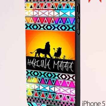 Hakuna Matata Colorful Aztec Samsung Galaxy S6 Case