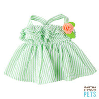 Martha Stewart Pets® Seersucker Ruffle Dress | Dresses | PetSmart