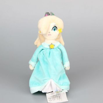 "Super Mario Princess Rosalina Plush Toy With Tag Soft Dolls Gift For Girl 8"" 20 CM Children Gift"