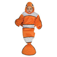 Guppy Fish Bunting Halloween Costume - Infant Size Birth - 9 Months #zCL