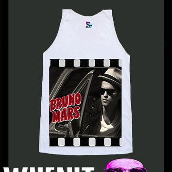 worldwide shipping just 7 days Bruno Mars shirt singlet tank top 10362
