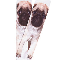 Photo-Pug Printed Socks