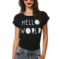 Lafine Hello World Tee