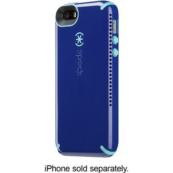 Speck - CandyShell Amped Case for Apple® iPhone® 5 and 5s - Blue/Caribbean Blue