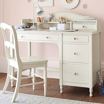Juliette Storage Desk & Hutch