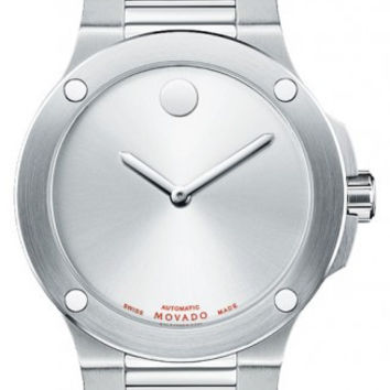 Movado SE Extreme Men's Stainless Steel Silver Horwitt Dial Automatic Movement 44mm Watch 0606291