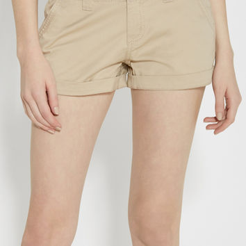 chino shorts in khaki | maurices