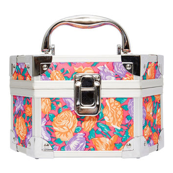 ASIF Pink Floral Mini Trunk