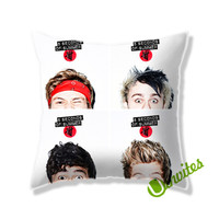5SOS News Album Cover Square Pillow Cover