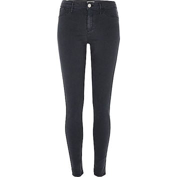 Blue grey Molly jeggings