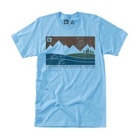 Boundary Tee Light Blue / HippyTree