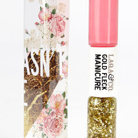 LAQA & Co. Cagney Pink Gold Fleck Manicure Duo
