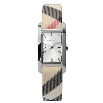 Burberry Women's Heritage Nova Check Strap Watch BU9503