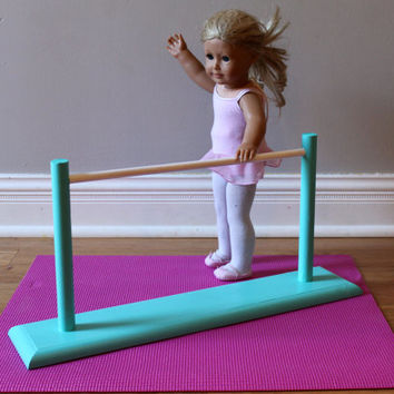 Ballet Barre and Dance Mat for American Girl & 18-inch Dolls