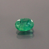 Emerald: 0.51ct Green Oval Shape Gemstone, Natural Hand Made Faceted Gem, Loose Precious Beryl Mineral, 14k 18k 22k Gold Designers  20084