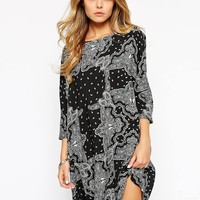 Noisy May Paisley Dress