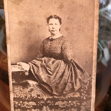 Antique Amputee Photograph Cabinet Card Circa 1880