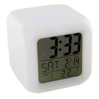Glowing LED Color Mood Changing Digital Alarm Clock