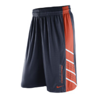 Nike Knit Performance (Illinois) Men's Basketball Shorts Size XL (Blue)