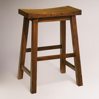 Honey Schoolhouse Counter Stool - World Market