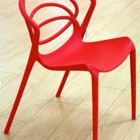Loopy Chilli Red Chair