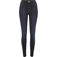 River Island Womens Dark wash Lana superskinny jeans