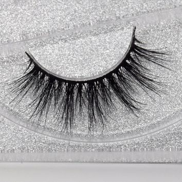 Visofree Lashes High Volume 3D Mink Lashes Reusable Dramatic Eyelashes False Eyelashes D125