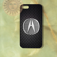 Acura Car Logo-iPhone 5 , 5s, 5c,4s, 4 case,Ipod touch 5, Samsung GS3, GS4 case - Silicone Rubber or Hard Plastic Case, Phone cove