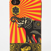 Shepard Fairey X Incase iPhone Case - Gold elephant