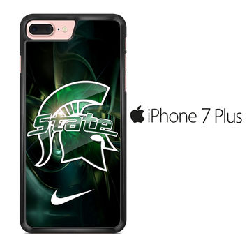 Michigan State Nike iPhone 7 Plus Case