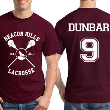 Dunbar 9 Beacon Hills Lacrosse Teen Wolf Unisex Shirt - RT16
