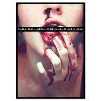 Bring Me The Horizon Blood Lust Poster