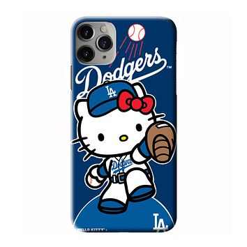 HELLO KITTY LA DODGERS iPhone 3D Case Cover