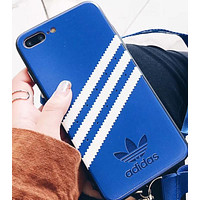 Adidas All-inclusive soft silica gel phone case shell  for iphone 6/6s,iphone 6p/6splus,iphone 7/8,iphone 7p/8plus, iphonex