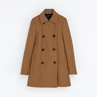 DOUBLE - BREASTED COAT - Coats - Coats - WOMAN | ZARA United States