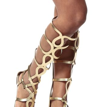 Gold Egyptian Gladiator Sandals   Cicihot Sandals Shoes online store sale  Sandals cc1ba53f78