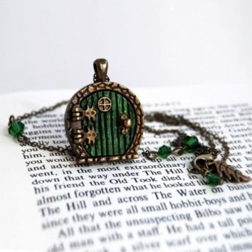 Halfling Door Locket Necklace