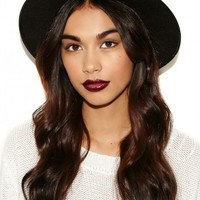 Missguided - Alaga Fedora In Black