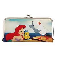 Disney The Little Mermaid Kisslock Wallet
