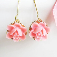 So Sweet Hot Pink Earrings