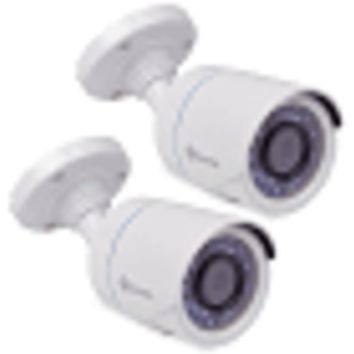 (2-Pack) Swann PRO-T845 720p Multi-Purpose Indoor/Outdoor Day/Night Security Camera w/66' Night Vision (White)