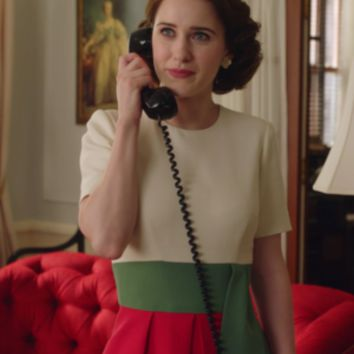 Mrs Maisel Knock Off Tri Color Dress - Custom Sizing