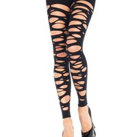 Holey Footless Tights :: VampireFreaks Store :: Gothic Clothing, Cyber-goth, punk, metal, alternative, rave, freak fashions