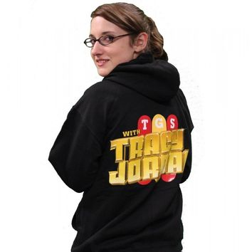 30 Rock Unisex TGS Zip Hoodie Black Medium