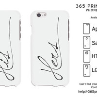 Stylish His and Hers Matching White Phone Cases - 365 Printing Inc