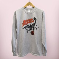 """Scorpion"" Long Sleeve – Balance and Composure"