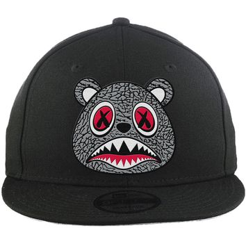 Elephant Baws - New Era 9Fifty Black Snapback Hat