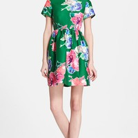 Women's kate spade new york 'stelli' floral print fit & flare dress