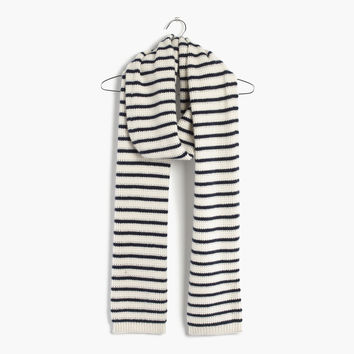 Striped Cashmere Scarf : | Madewell
