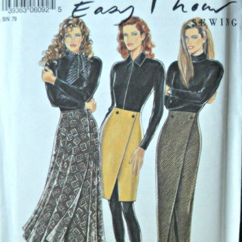 New Look 6092, Women's Skirt Pattern, Sizes 8 through 18
